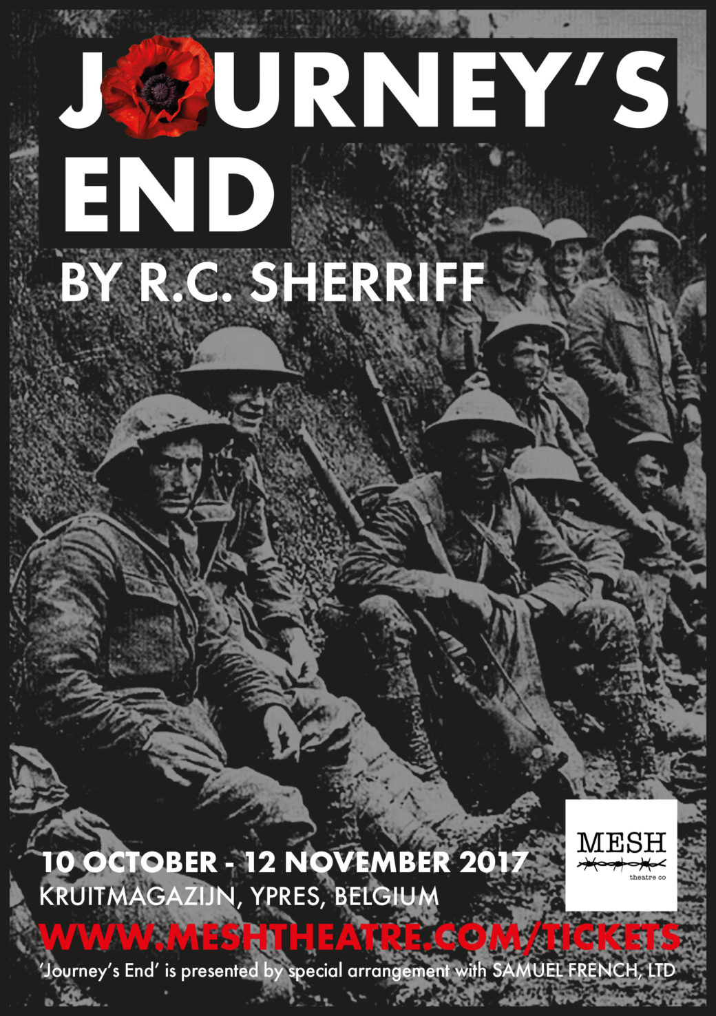 english journeys end Based on rc sheriff's celebrated play about the horror of life in the first world war  trenches, journey's end features some of the finest british.