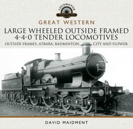 Great Western Large Wheeled Outside Framed 4-4-0 Tender Locomotives