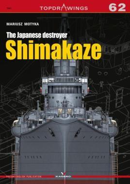 The Japanese destroyer Shimakaze