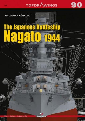 The Japanese Battleship Nagato 1944