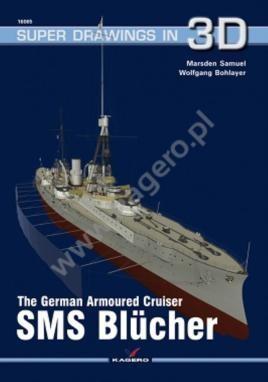 The German Armoured Cruiser SMS Blücher