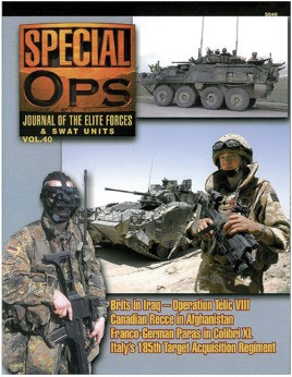 5540: Special Ops: Journal Of The Elite Forces & Swat Units Vol. 40