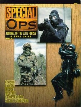 5504: Special Ops: Journal Of The Elite Forces And Swat Units (4)