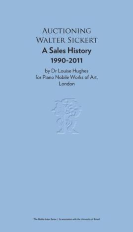 Auctioning Walter Sickert