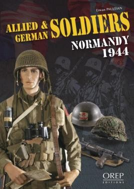 Allied And German Soldiers Normandy 1944