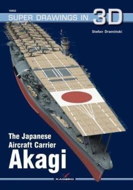 The Japanese Aircraft Carrier Akagi
