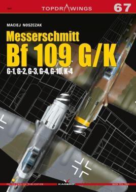 Messerschmitt Bf 109 G/K - G-1, G-2, G-3, G-4, G-10, K-4