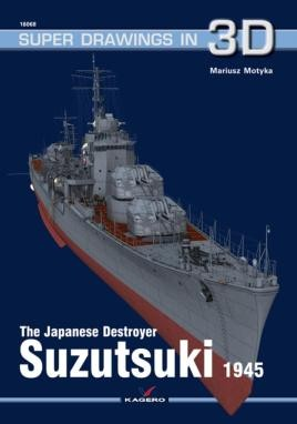 The Japanese Destroyer Suzutsuki