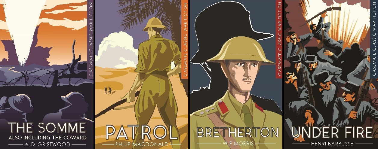 Click to view the War Fiction titles