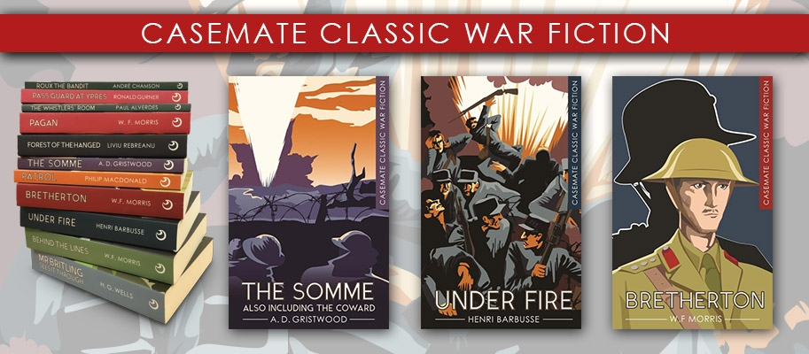 Casemate Classic War Fiction Banner